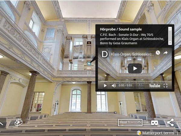 Beeindruckendes Kunsthandwerk: Die Klais Orgel in Bonn