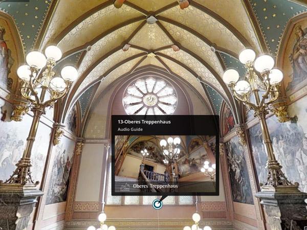 Auf der Couch ins Museum: Multimedia Einbindungen im 3Dshowcase