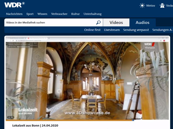 Tipp der WDR Lokalzeit: Besuch auf Schloss Drachenburg trotz Corona