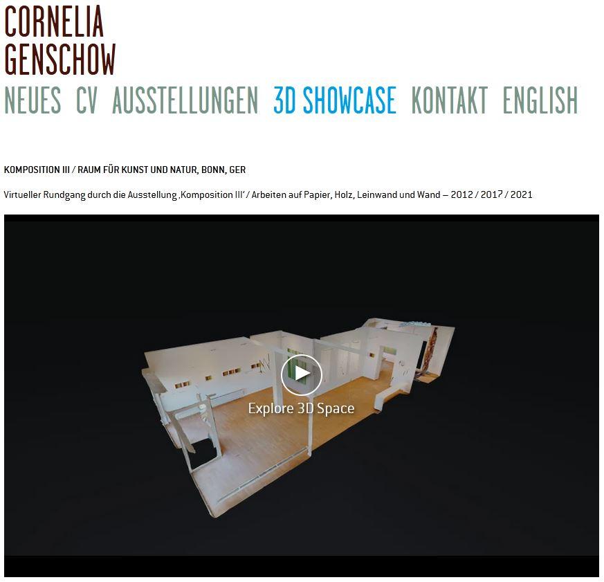 Raum für Kunst & Natur – Cornelia Genschow – Dokumentation des künstlerischen Schaffens seit 2008
